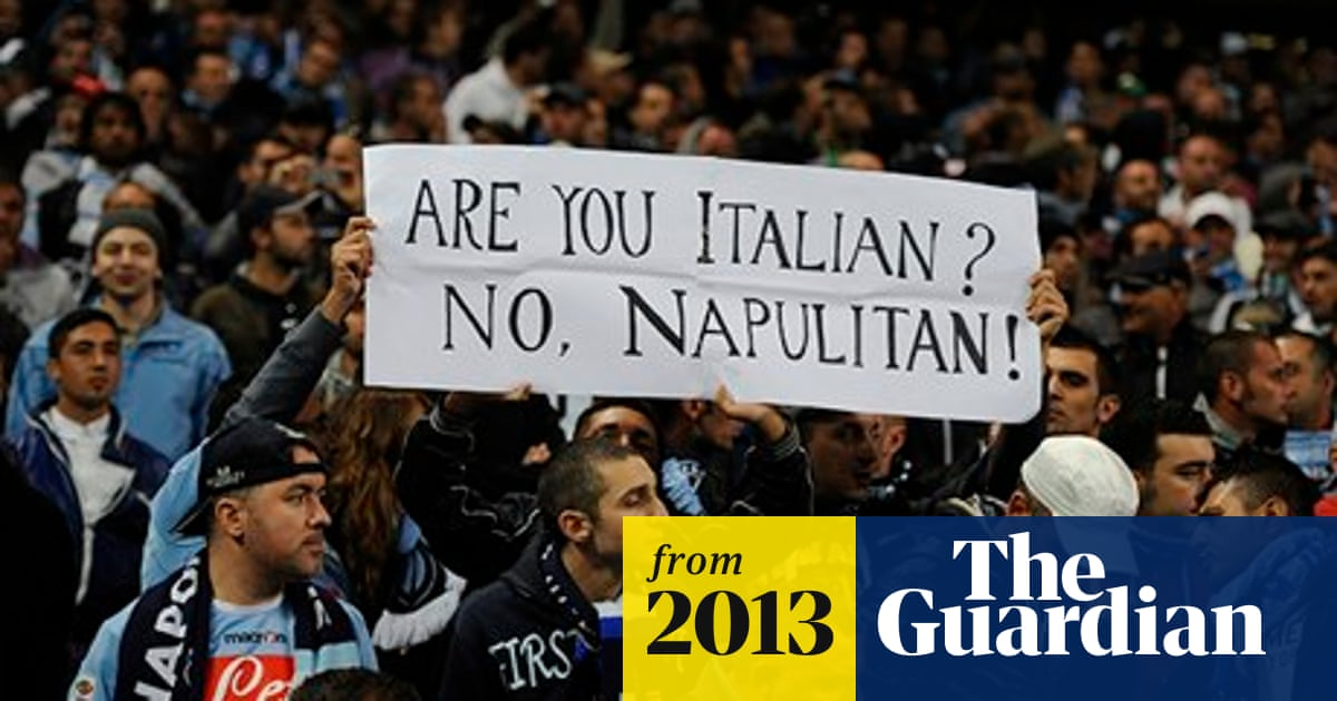 Italian football fans stand up for their right to be abused by