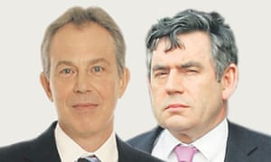 Tony Blair and Gordon Brown undermined each other subversively.