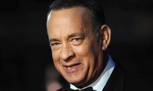 Tom Hanks at European premiere of Captain Phillips