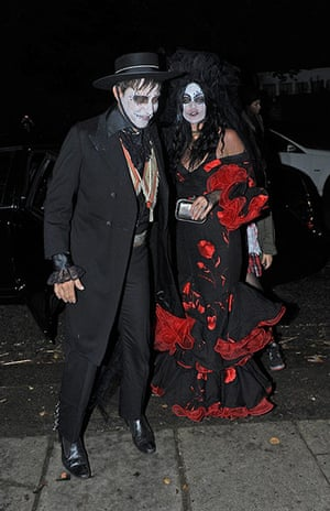 Halloween costumes update: Kate Moss and Jamie Hince