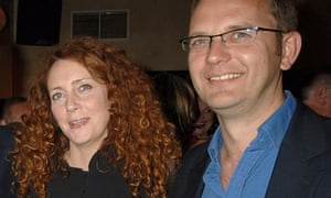 Rebekah Brooks and Andy Coulson attend the 2007 launch of Piers Morgan's book