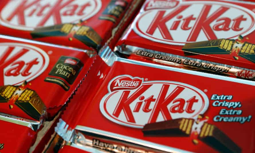 Android is now named after the Kitkat Nestle chocolate biscuit.