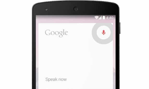 """Google Now is constantly listening out for """"OK Google""""."""
