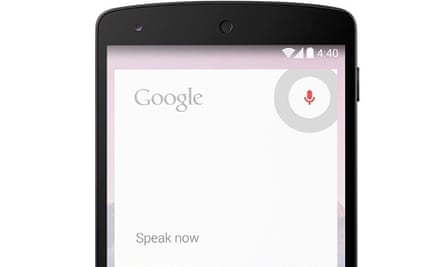 Google Now is constantly listening out for
