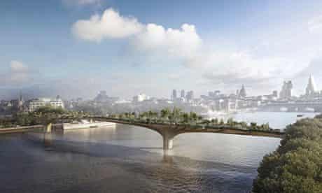 uk first garden bridge thames