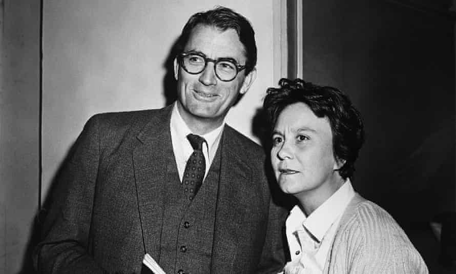 Harper Lee with Gregory Peck