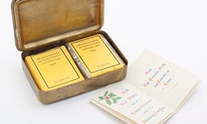 A Christmas gift of cigarettes from Princess Mary
