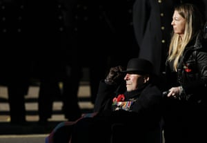 Remembrance Sunday: A military veteran pays his respects