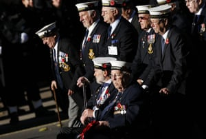 Remembrance Sunday: Military veterans pay their respects