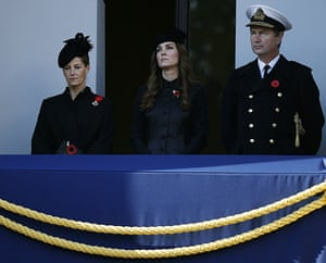 Remembrance Sunday: Sophie, Countess of Wessex, Catherine, The Duchess of Cambridge and Vice Ad