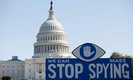 Protest Against Government Surveillance In Washington D.C.