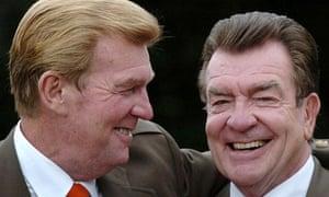 Jack Alexander, left, and Tom Alexander in 2005.