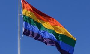 Rainbow Flag, Castro, San Francisco
