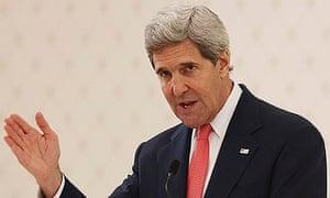 John Kerry in Abu Dhabi