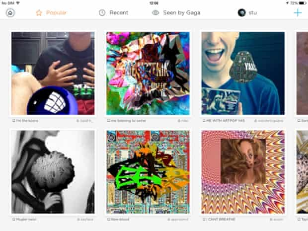 Other fans' creations can be browsed and remixed.