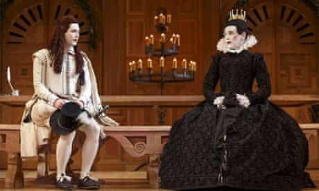 Mark Rylance as Olivia in Twelfth Night