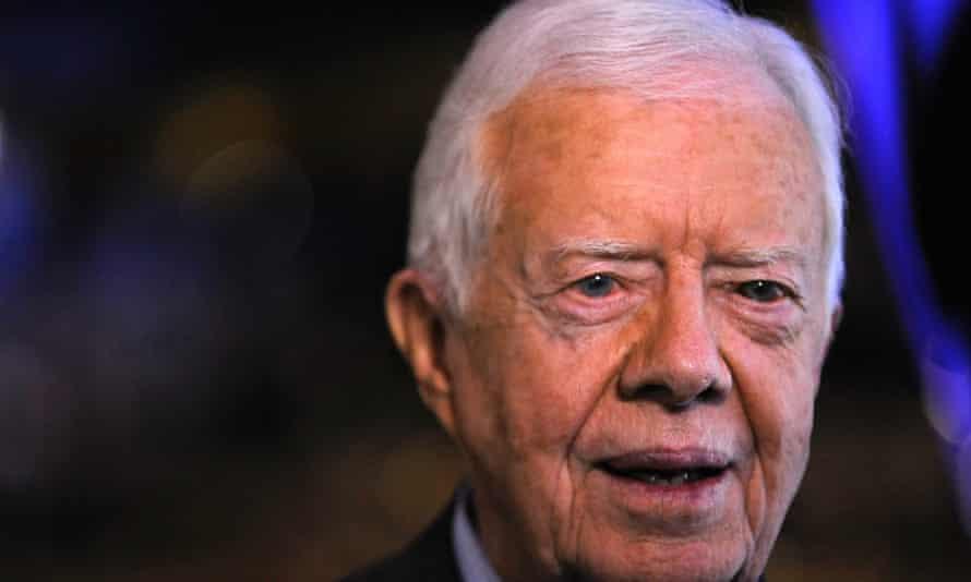 Jimmy Carter in 2008