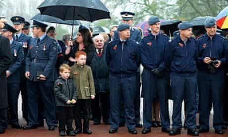 Harold Percival funeral