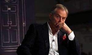 Tony Blair interview