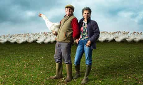 Robert and Claire Symington on Seldom Seen Farm