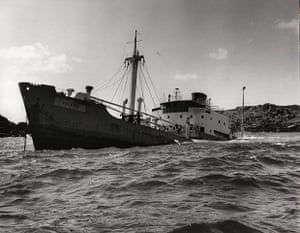 Martins Auto Salvage >> The Gibson shipwrecks and rescues archive – in pictures ...