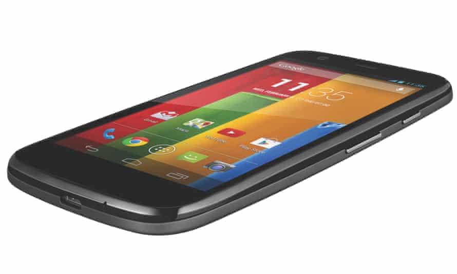 Motorola Moto G smartphone