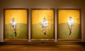 Three Studies of Lucian Freud by Francis Bacon