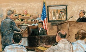 Hamlin Guantanamo court scene