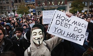 Occupy Wall Street In New York City