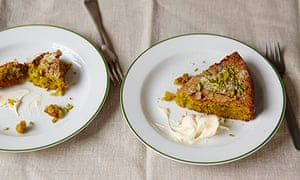 Cook - olive oil (pistachio, cardamom and olive oil cake)