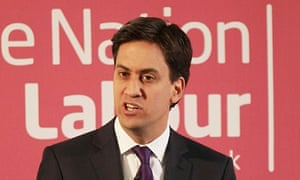 Ed Miliband making Labour reforms speech