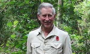 Prince Charles Visits the Harapan Rainforest