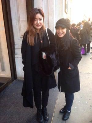 Shoppers at Regent Street