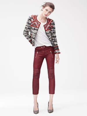 From the Isabel Marant for H&M collection