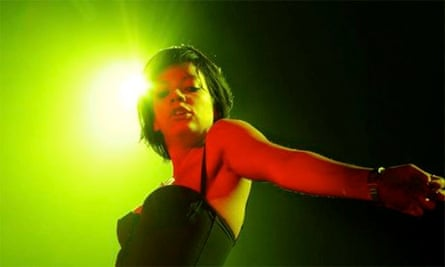 Lilly Allen Performs In Amsterdam