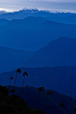 Nature reserves: Sierra Nevada de Santa Marta, Colombia