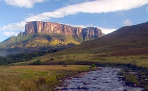 Nature reserves: Formaciones de Tepuyes Natural Monument, Venezuela. The protected area is f