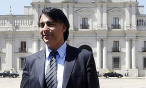 Chilean presidential candidate Marco Enríquez-Ominami
