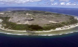 Nauru, where most asylum seekers in Australia are expected to be transferred within 48 hours
