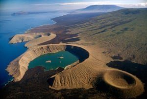 Nature reserves: Volcanic Craters on Isabela Island, Galápagos Islands