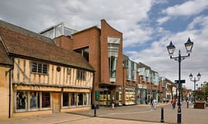 Solihull's Touchwood shopping centre