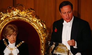 Who wouldn't be motivated to obey a man who says austerity is essential while at a white-tie dinner surrounded by gold and an uninterested Lord Mayor?
