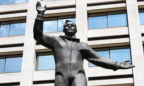 Yuri Gagarin statue, British Council, London
