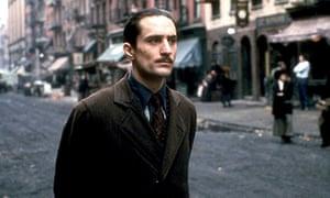 Robert De Niro as Vito Corleone in The Godfather Part 2