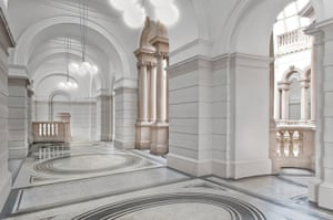 Caruso St John: Artist's impression of the new Tate Britain Members Lounge