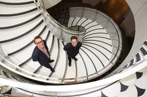 Caruso St John: New Tate Britain Architects Peter St John (left) and Adam Caruso