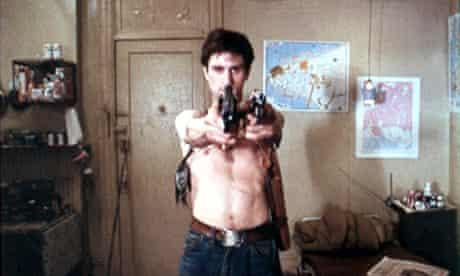 Robert De Niro as Travis Bickle in Taxi Driver