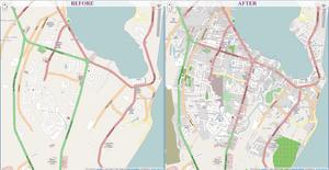 OpenStreetMap effects