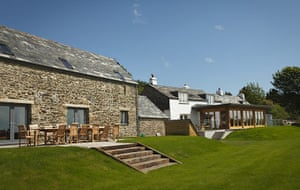 Cool Cottages:NCornwall: Tregulland Barn,