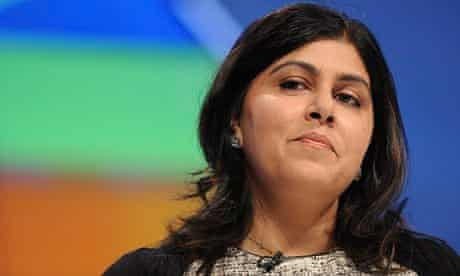 Lady Warsi, who called on politicians to set the tone for religious tolerance